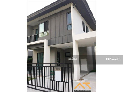 For Rent - For rent  Baan Klang Muang Rama 9 - Onnut  3Bed  2Bath, size 125 sq. m. Beautiful room, fully furnished.