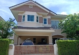 Cheap sale !! Detached house, Bangsaen, Chon Buri, 2-storey detached house in Maneerin Village, Green Park, Ang Sila, 3 bedrooms, 3 bathrooms, behind the edge of the area, the cheapest in the project. - DDproperty.com