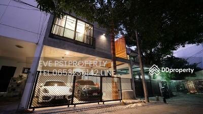 ให้เช่า - ให้เช่าทาวน์โฮม style modern loft ในซอยพร้อมพงษ์ ( PST-EVE044 )