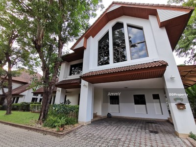 For Sale - Detached House for Sale/Rent Nice house Nichada Thani near ISB school.