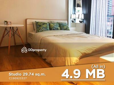 ขาย - ราคาดีมาก ไม่ควรเลื่อนผ่าน! !! สตูดิโอแต่งสวย สไตล์ Homey ใกล้ BTS พร้อมพงษ์ ที่คอนโด Park 24 / ขายคอนโด