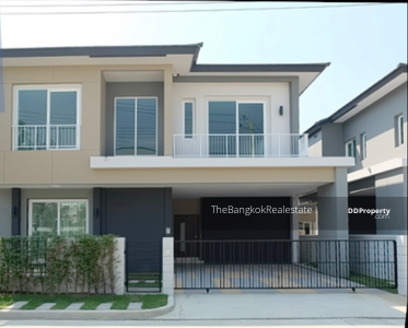 For Rent - EVE009 Fully-Furnished house for rent or sale : The City Close to BTS Bangna & BTS Udomsuk