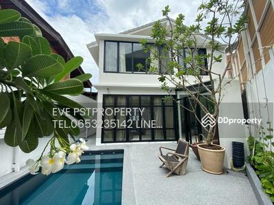 ขาย - ขายบ้านใหม่ตกแต่งสวยพร้อมสระว่ายน้ำส่วนตัว ทะลุซอยสุขุมวิท 65 และปรีดี 15  ( PST-EVE060 )