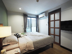 อพาร์ทเมนต์ 1 นอน ห้องสวย ใกล้ BTS อโศก ขั้นต่ำ 1 ด. (ID 18033)