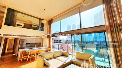 For Rent - The Philo Residence BTS Phromphong Duplex 3 bed / 3 bath