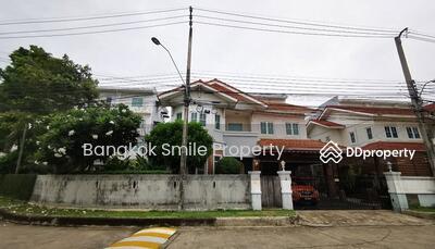 ขาย - ขายบ้านเดี่ยว 2 ชั้น หลังมุม หมู่บ้านจิรทิพย์ ถนนนวลจันทร์