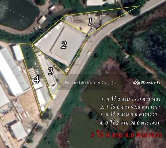 ขายโรงงาน พื้นที่ 3 ไร่ ติดถนนเทพารักษ์ บางบ่อ #78340122