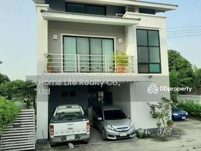 ให้เช่า - ขาย/ให้เช่า บ้านเดี่ยวติดคลอง อ. เมืองปทุมธานี วิวแม่น้ำเจ้าพระยา