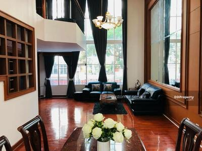 For Rent - CRP-S9-CD-633259 Baan Klang Krung for rent, the perfect House in Thonglor, close to BTS Thonglo, 400 SQM, 4 bedrooms 6 bathrooms, best location in BKK.