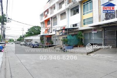 For Sale - ตึกแถว 4 ชั้น 21. 5 ตร. ว. หมู่บ้านสินธนา5 ซอยนวลจันทร์22 ถนนรามอินทรา - 39552