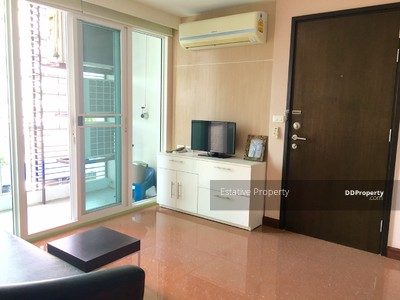 For Sale - Diamond Ratchada City Plus for sale,  2 brs. Fully furnished, Close to MRT Huaikwang