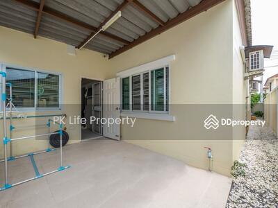 ขาย - 12R0142  ให้เช่าบ้านแฝดชั้นเดียว 3 ห้องนอน2ห้องน้ำขนาด45 ตรว ราคา 16, 500/เดือน โซนถลาง เฟอร์นิเจอร์ครบครัน