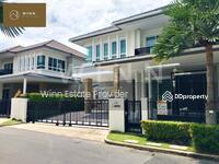 ขาย - ขาย บ้านเดี่ยว แกรนด์ บางกอก บูเลอวาร์ด พระราม 9 - ศรีนครินทร์ Grand Bangkok BoulevardRama 9 ติดถนนกรุงเทพกรีฑา จาก SC Asset พื้นที่ใช้สอย 335 ตร. ม.