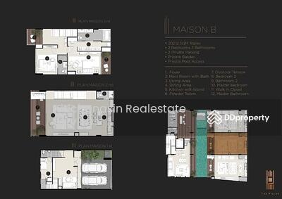 For Sale - The Pillar Triple Plex 3 floors 202. 12 sq m @LINE: 0962215326 Khun Nat