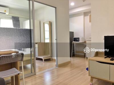 ขาย - ไลน์@wmcondo ให้เช่าคอนโด Deco Condominium  ขนาด 23 ตรม. ตึก A ชั้น 2 1 ห้องนอน มีเฟอร์ + เครื่องไฟฟ้า ราคา 7, 000 บ.