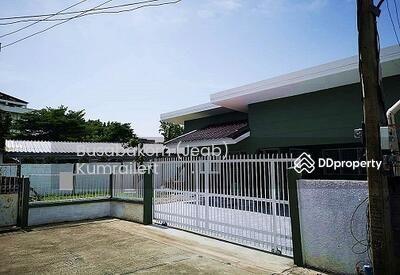 ขาย - ขาย บ้านเดี่ยว ชั้นเดียว หลังริม ติวานนท์ 22  บ้านสวยมาก ตกแต่งใหม่-พร้อมอยู่  ใกล้รถไฟฟ้าสายสีชมพู (แคราย–มีนบุรี)  Tel. 061-289-6465
