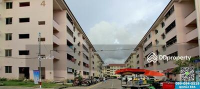 ขาย - ขายบ้านเอื้ออาทรแพรกษา4 ถ. แพรกษา สมุทรปราการ ใกล้นิคมอุตสาหกรรมบางปู พื้นที่31. 83ตรม. อยู่ชั้น4 อาคาร33 ขายพร้อมมุ้งลวด-เหล็กดัด ขายราคาไม่แพง ขายเพียง430, 000บาท