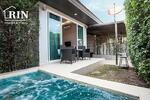 E046 ขายถูกบ้านแฝด  The Ville Jomtien Pool Villa Pattaya