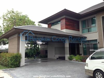 ขาย - BCR011302 - 5 bed Single House Rama 9 - Rama 9 Road
