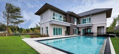 For Sale - House for sale NICHADA JASPER, 5 bedrooms, 7 bathrooms, area of 850 sq m. Sell 60Mb. @ LINE: 0962215326 Khun Kae