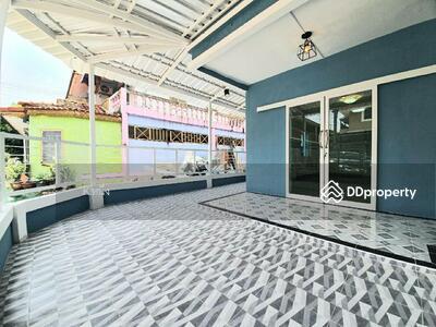 For Sale - NS005ขายบ้านใหม่หลังมุม ทาวน์เฮาส์2ชั้น หมู่บ้านพฤกษา9 รังสิตคลอง3