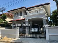 ขาย - บ้านเดี่ยว แต่งใหม่ พื้นที่เยอะมาก หลังใหญ่ รุ่งนภา4 ถนนร่มเกล้า13 มีนบุรี
