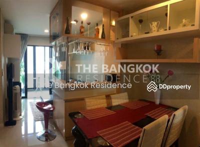 ขาย - CONDO FOR SALE ** Ideo Ratchada Huaikhwang ** Fully furnished 2-bedroom condo near MRT Huai Khwang @ 5, 800, 000 THB