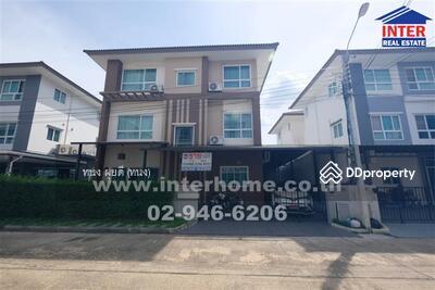 For Sale - บ้านเดี่ยว 3 ชั้น 50. 5 ตร. ว. หมู่บ้านคาซ่าพรีเมียม ถนนรัตนาธิเบศร์ - 40149