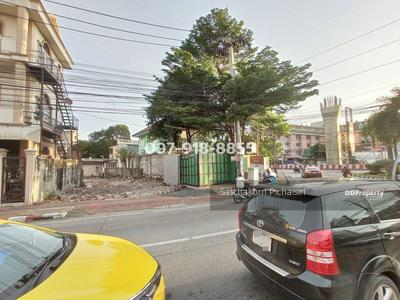 ให้เช่า - ให้เช่าที่ดินเปล่า 127 ตร. วา ปากซอยถนนสามัคคี ใกล้ถนนติวานนท์