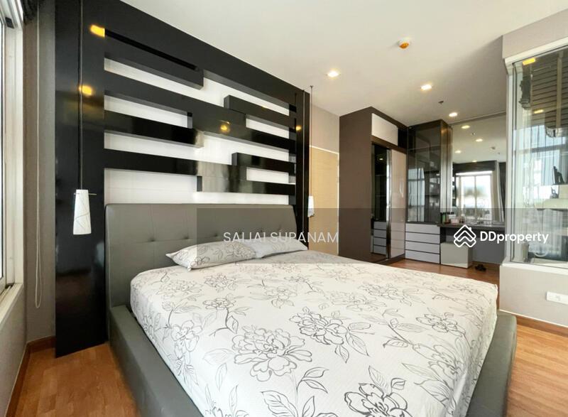 ปล่อยเช่า the coast bangkok เฟอร์ครบ บรรยากาศภายในห้องนอน