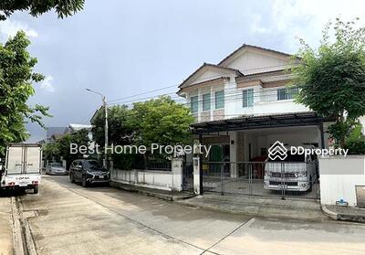 For Sale - ขาย บ้านเดี่ยวมัณฑนา ชัยพฤกษ์ แจ้งวัฒนะฯ ทำเลติดถนนใหญ่ บนทำเลศักยภาพ