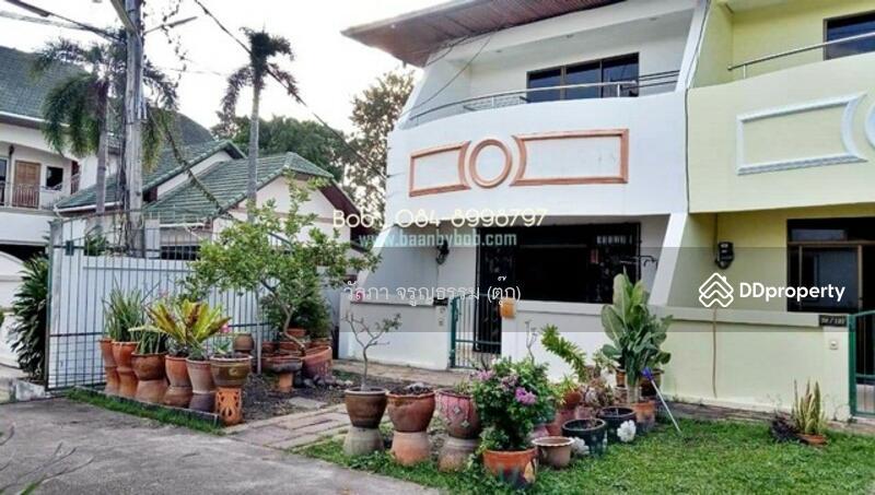 ให้เช่า บ้านพัทยา Home for rent /Pattaya Sukhumvit 53 ทาวน์เฮ้าส์ บ้านสวนสุวัฒนา (Suwattana Garden Village) 28 ตร.ว 2 นอน 3 น้ำ เนินพลับหวาน สุขุมวิท 53 พัทยาใต้ พร้อมเฟอร์  พร้อมอยู่ ด่วน 12,000 บาท/เดือน #83793328