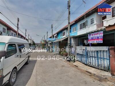 ขาย - ทาวน์เฮาส์ 2 ชั้น 16 ตร. ว. หมู่บ้านฉัตรไพลิน ถนนบางบัวทอง-สุพรรณบุรี - 40671