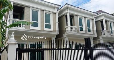 ขาย - เจ้าของขายเอง บ้านเดี่ยวสร้างใหม่มือหนึ่ง  ทำเลโชคชัย 4 33 ตรว.
