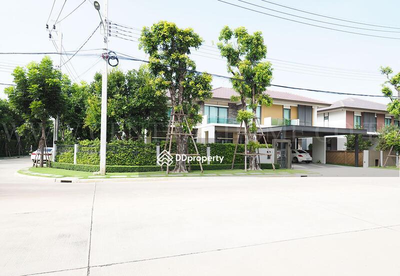 บ้านเดี่ยว บุราสิริ ราชพฤกษ์ - 345 Fully Furnished หลังมุม ถนนเมน