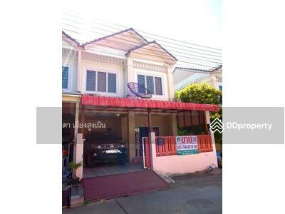 For Sale - Townhouse for sale, Baan Thanarin. Pracha Uthit - Wat Khu Sang, behind the corner, beautiful additio
