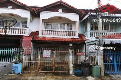ขาย - ขายทาวน์เฮ้าส์ 2 ชั้น หมู่บ้านแสงบัวทองวิลล่า บางบัวทอง นนทบุรี