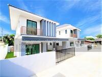 ขาย - S1501 ขาย บ้านเดี่ยว 2 ชั้น สร้างใหม่ สไตล์โมเดิร์น ใกล้กาดฝรั่ง , พรีเมี่ยมเอาท์เลท เชียงใหม่