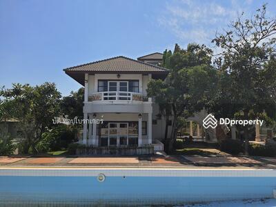 For Sale - ขายบ้านเดี่ยว 180 บางปู บีช เฮ้าส์ ถนนสุขุมวิท เนื้อที่ 344 ตารางวา ใกล้สนามบินสุวรรณภูมิ