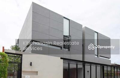 ให้เช่า - ด่วน! บ้านเดี่ยวสไตล์โมเดิร์น เอกมัย แบบ 4ห้องนอน 5ห้องน้ำ พท. ใช้สอย 400 ตร. ม  2ชั้น  เช่า 150000 บาท @LINE:0932181290 คุณ เก๊ะ