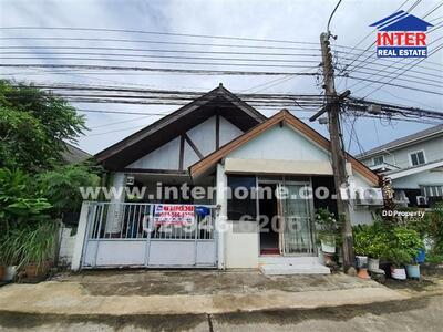 For Sale - House 1 floors 40 sq. w. Narisa village Soi Serithai 29, Serithai Road - 40827