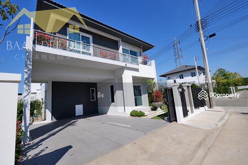 บ้านในโครงการมีระดับ คุณภาพทางสังคมที่ดี ให้เช่าเดือนละ 30,000 บาท เดินทาง 10 นาทีเข้าเมือง No.6H063 #81616616
