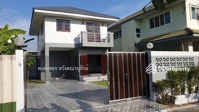 For Sale - บ้านเดี่ยว มหิดลศาลายา บรมราชชนนี76 กทม. 2นอน 2น้ำ พื้นไม้แดงทั้งหลัง ตกแต่งใหม่พร้อมเข้าอยู่