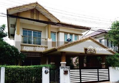 For Sale - ขายบ้านเดี่ยว 2ชั้น หมู่บ้านสราญสิริ ราชพฤกษ์-แจ้งวัฒนะ(Saransiri Ratchaphruek-Chaengwattana) 3นอน 3น้ำ 64ตร. ว สภาพดี พร้อมอยู่