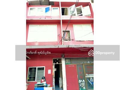 For Sale - ขายอาคารพานิชย์ 3. 5 ชั้น  2 คูหา รามคำแหง 48  แยกลำสาลี  ถนนรามคำแหง   แขวงหัวหมาก