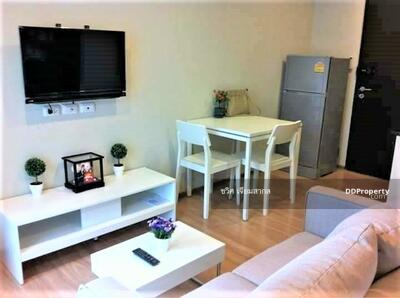 For Rent - Condo for rent The Tempo Ratchada Price 8, 000 Baht Size 25 Sqm. Bedroom 1 Floor 4 View Building