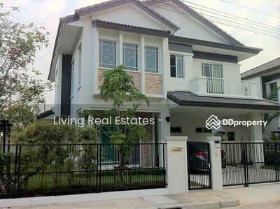 ให้เช่า - T5080164 ให้เช่า บ้านเดี่ยว 2 ชั้น หมู่บ้าน มัณฑนา แจ้งวัฒนะ 3 นอน 3 น้ำ ขนาด 63 ตรว.