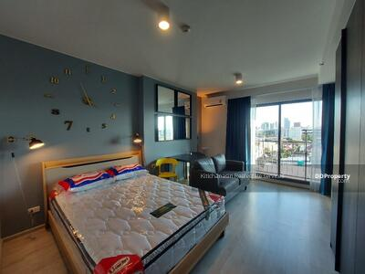 For Rent - Code KRE W588 Ideo Ratchada-Sutthisan, 1 bedroom, 1 bathroom, area 28. 50 sq m, 7th floor, rent 13000 baht @LINE: 0949131629 Khun New