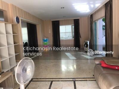 ให้เช่า - รหัส KRE X255 บ้านเดี่ยว หมู่บ้านนันทวัน ศรีนครินทร์ แบบ 4ห้องนอน 4ห้องน้ำ เนื้อที่ 102. 10ตร. ว 2ชั้น  เช่า 35000 บาท @LINE:0807811871 คุณ ออน