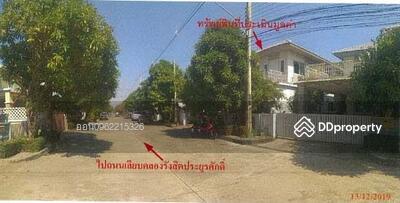 For Sale - Code KRE X442 Townhouse, Siriwalai Village Rangsit-Nakhon Nayok Klong 1, 4 bedrooms, 3 bathrooms, area 52. 3 sq. w. 2 floors, sell 4. 73 MB @LINE: 0962215326 Khun On